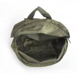 カスタムはファッショナブルな緑の防水リュックサックバッグを作った