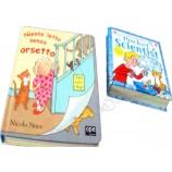 プロのcmyk/Pantone色のハードカバーの子供の本