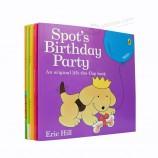 эко-дружественные полноцветные книги для детей с мягкой обложкой