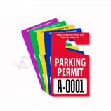 дешевый пользовательский автомобиль парковка разрешения повесить метки заводской фарфор