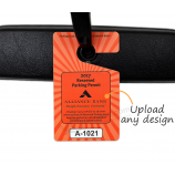 High Quality Custom Design Rear View Mirror Hang Tags
