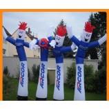 Car dealership inflatable man dancing man advertising
