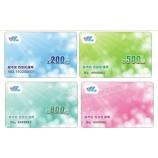 卸売カスタムマット仕上げ黒プラスチック名刺/高級ビジネスメンバーカード