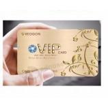 사용자 지정 저렴 한 광택 된 pvc 클럽 VIP 회원 카드 맞춤형