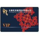 カスタムデザイン印刷可能なpvcプラスチック部材/ギフトカード