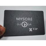 멋진 디자인 골드 호 일 스탬프 프로스트 비즈니스 회원 카드
