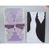 최고의 품질 a엘i비a비a 도매 결혼식 초대 카드