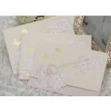 中国のカスタマイズ豪華な蝶のレーザーカット結婚式招待状カード