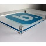 壁掛けアクリルディスプレイボード卸売用の大判印刷