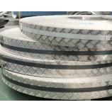 卸売カスタマイズされた反-滑らかなアルミニウムの市松模様のプレートは、1つのバー、5つのバーを踏み板の床板