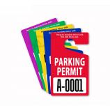 фабрика прямой изготовленный на заказ пластичный pvc повесить бирку парковочных разрешений
