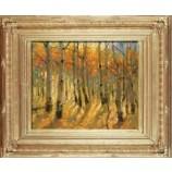 P568 84x68cmの壁の装飾手作りの風景の油絵販売のための