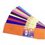 эко-дружественная крепированная бумага ручной работы для упаковки и изготовления бумажных цветов