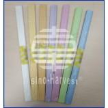 Креповая бумага популярна для растяжек новогодних украшений