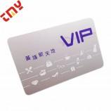空白のpvc idカードプラスチック、ビジネス会員カードプラスチック