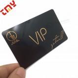 뜨거운 스탬프 스탬핑 된 양각 된 비즈니스 카드
