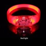 активированный силиконовый светодиодный браслет мигает светодиодный браслет