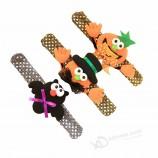 Cartoon LED Slap Band Bracelet Wristband for Kids Halloween Trick of Treat