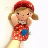 soft toys plush custom educational toy doll  plush hand puppet