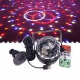 크리스탈 공 프로젝터 레이저 빛 led가 자리 크리스마스 빛 크리스마스 장식입니다