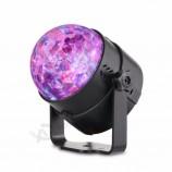 魔法の水晶は球のスポットライト音楽制御プロジェクターライトを導きました