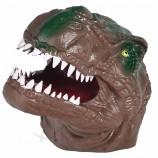 TPR Realistic Hand Puppet Toys Kids Soft Dinosaur Rubber Gloves Kids Dinosaur Toys