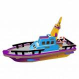 Дети головоломки модель лодки деревянные ремесло на заказ