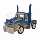 трейлер модель пазл 3d деревянная поделки сборка машин игрушки на заказ