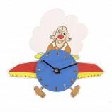 транспорт тема деревянные детские игрушки поделки настенные часы 3d на заказ