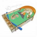 卸売木製の自己-子供のためのアセンブリピンボールゲーム