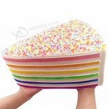 Anti-Stress Jumbo Slice Cake Squishy Kids Toys For Decoration