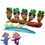 кукла кукольное животное плюшевые ручные опоры пальчиковые марионетки рассказывают историю для игрушек детей