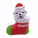 クリスマスグッズストレスボールねばねば楽しい犬ねずみ