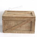 античный стиль деревянные декоративные дешевые деревянные ящики