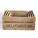 предметы домашнего обихода дизайн декоративные деревянные ящики для пива