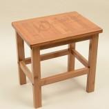 竹製家具家のシャワースツール