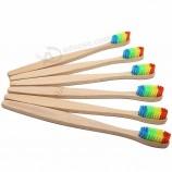 эко-Дружелюбная бамбуковая зубная щетка