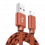 ナイロンは、特許を持つiphoneとandroidの急速充電usb充電ケーブルを編みました