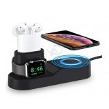 Iphoneのためのそして腕時計のqiの無線充電器のためのイヤホーンのための速い無線充電器