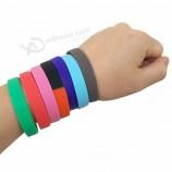 заполненный чернилами силиконовый браслет забавный рекламный элемент силиконовый браслет