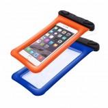 注文のロゴの水泳のための防水エアバッグの携帯電話の箱の袋
