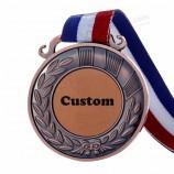 оптом изготовленный на заказ чистый металл работает медаль спортивного события