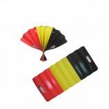 изготовленный на заказ полноцвет напечатал складывать знамя бумаги вентилятора