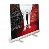 индивидуальный рекламный промо многоразовый рулонный баннерный стенд