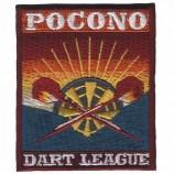 衣服のためのラベルのフットボールクラブの群れのバッジの大文字のパッチ鉄