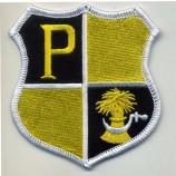 плоский логотип вышивка крючком и петля аппликация буксировки патч буквы