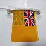 홍보 niue 국가 깃발 천 플래그 문자열 플래그
