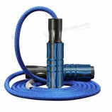 Skipping rope manufacturers wholesale custom jump rope with coarse weight sponge absorbent metal adjustable bearing