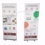 изготовленные на заказ напольные знамя свертывания продвижения / дисплей свертывания для рекламировать соб