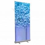 ролик баннер стенд печать высокого качества 100 * 200 свернуть банер алюминиевый баннер стенд свернуть рекламу